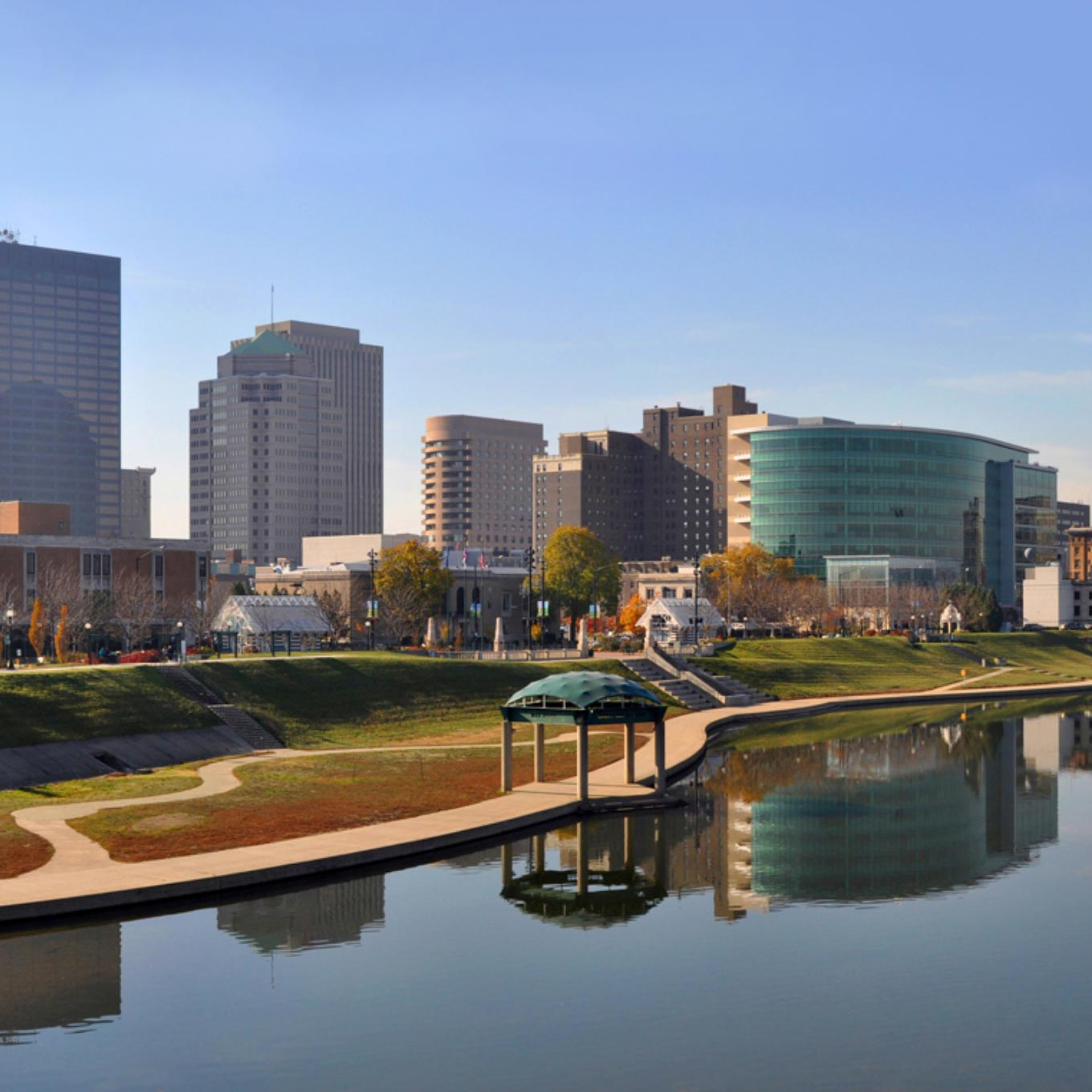 Downtown Dayton River View
