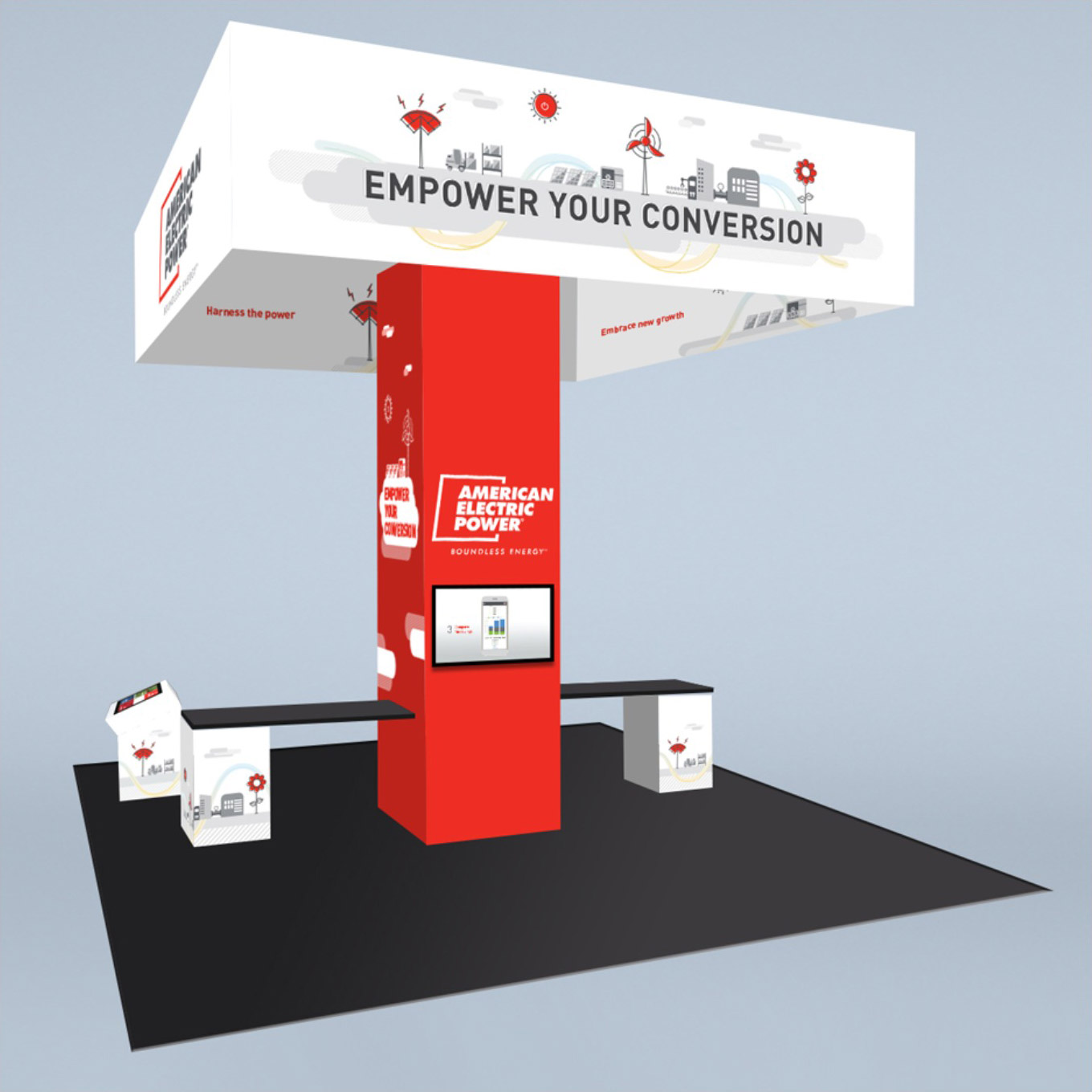 AEP-tradeshow-booth