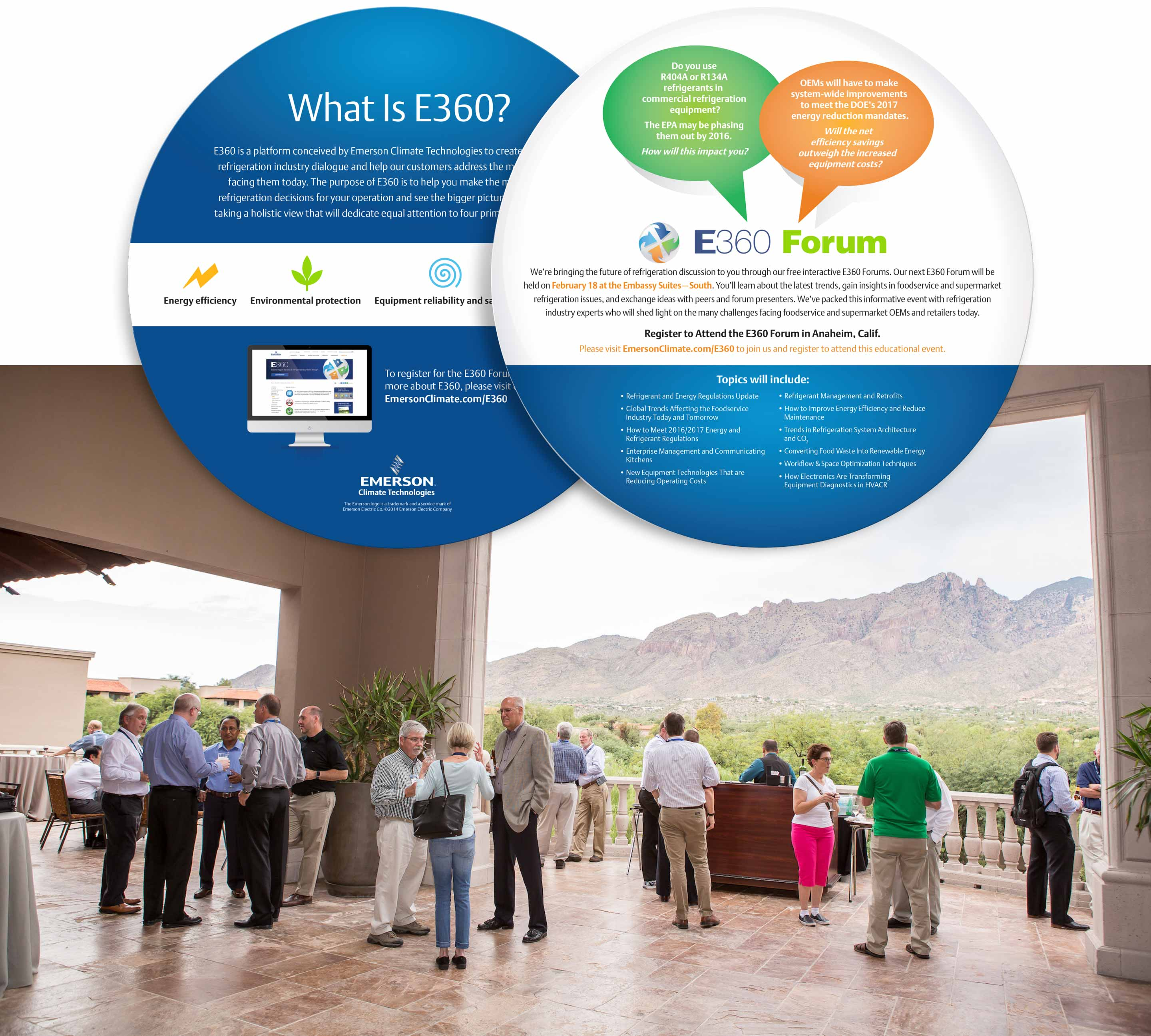 Emerson e360 mailer and group