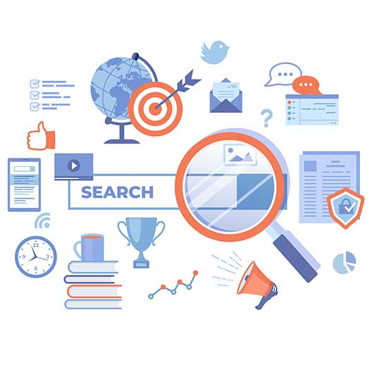search engine illustration thumb